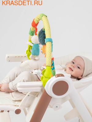 Happy Baby Дуга с игрушками Веселая горка (фото, вид 1)