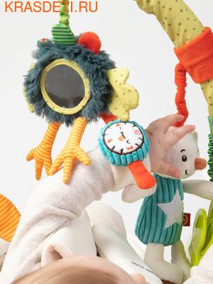 Happy Baby Дуга с игрушками Веселая горка (фото, вид 2)