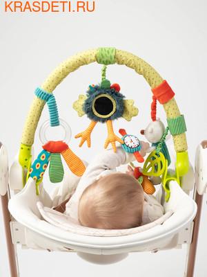 Happy Baby Дуга с игрушками Веселая горка (фото, вид 3)