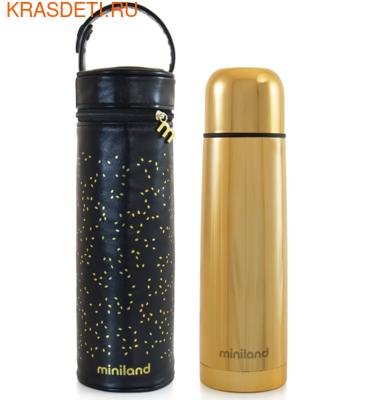 Miniland Детский термос для жидкостей с термосумкой Delux Thermos 500 (фото, вид 1)
