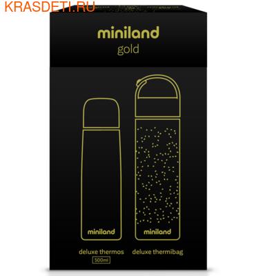 Miniland Детский термос для жидкостей с термосумкой Delux Thermos 500 (фото, вид 5)