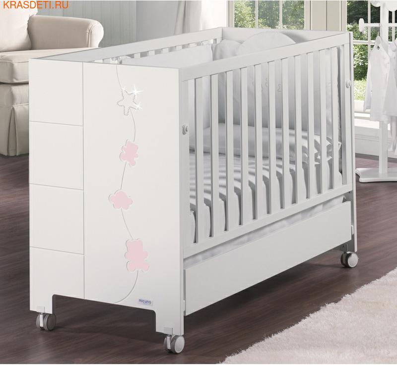 Детская кроватка Micuna Juliette Swarovski (фото, вид 2)
