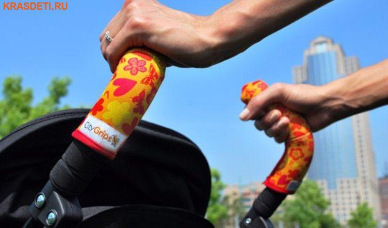 Чехлы CityGrips на ручки для коляски-трости (СитиГрипс) (фото, вид 2)