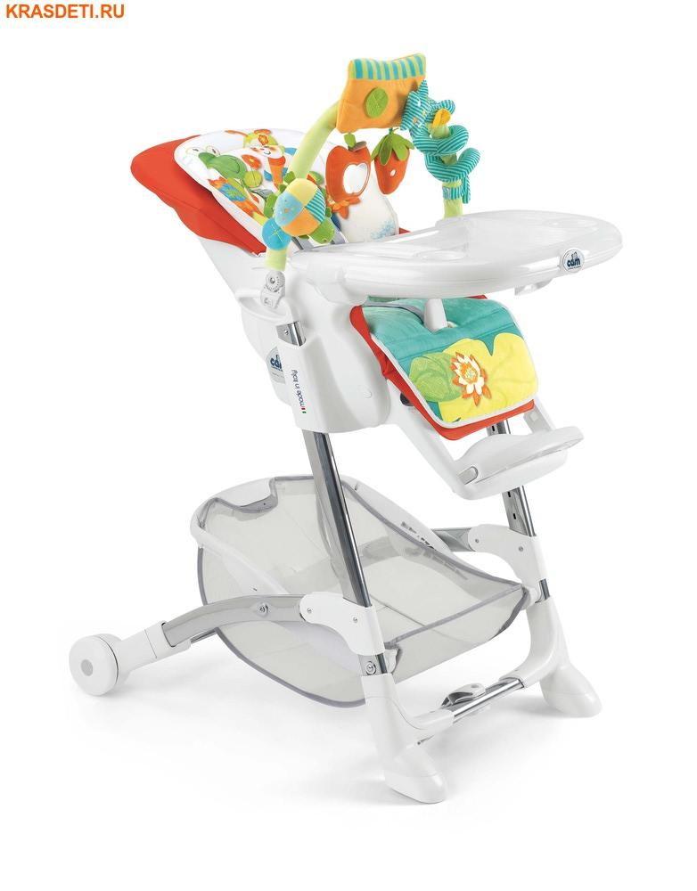 CAM Istante (Италия) Стульчик для кормления в комплекте с игрушками и мягким вкладышем (фото, вид 7)
