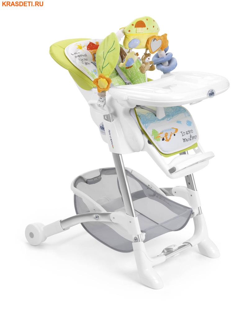 CAM Istante (Италия) Стульчик для кормления в комплекте с игрушками и мягким вкладышем (фото, вид 11)