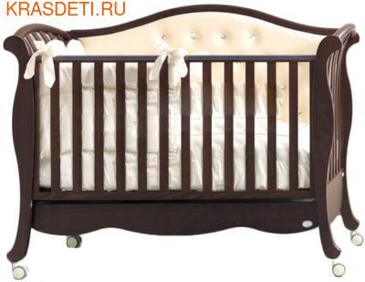 Кровать Bambolina Divina Lux Cristallo (фото, вид 1)