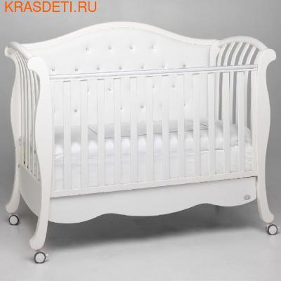 Кровать Bambolina Divina Lux Cristallo (фото, вид 2)