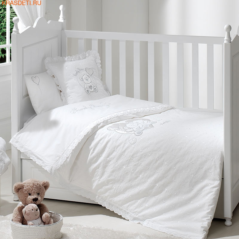 Сменное бельё Funnababy Lovely Bear White 3 предмета