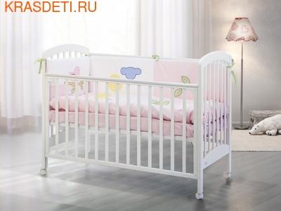 Кроватка 120x60 Fiorellino Dalmatina (фото)
