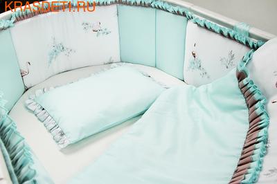 """Комплект постельного белья """"Фламинго"""" (фото)"""