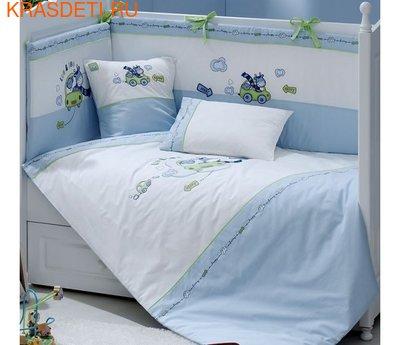 Funnababy Комплект постельного белья Leo Teo 120x60 5 предметов (фото)