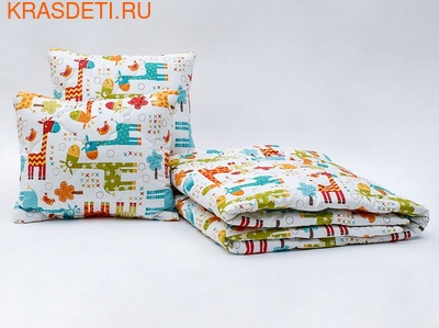 Giovanni Покрывало с подушками в кровать для дошкольников (3 предмета) Safari Kids (фото)
