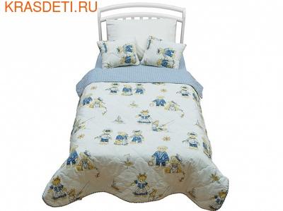 Giovanni Покрывало с подушками в кровать для дошкольников (3 предмета) Orsetto kids (фото)