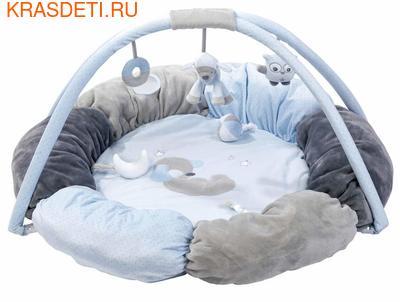 Развивающий игровой коврик круглый Nattou (фото)