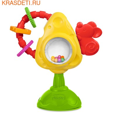 """Игрушка для стульчика Chicco """"Мышка с сыром и крекерами"""" (фото)"""