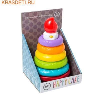 """Happy Baby Музыкальная пирамидка HAPPY BABY """"Happy Cake"""""""