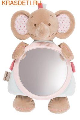 Зеркало для контроля за ребенком Nattou Mirror for car Nina (фото)