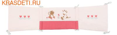 Бортик для кровати универсальный Nattou Charlotte&Rose