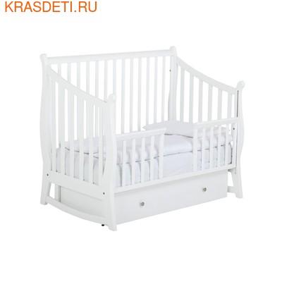 Детская кроватка маятник Maggy 125x65 Papaloni