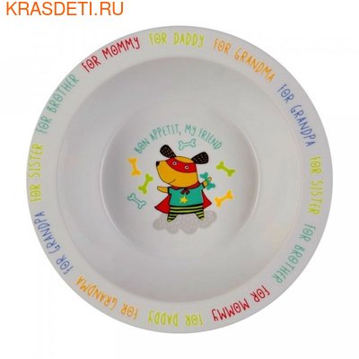 Тарелка глубокая Happy Baby Feebing bowl