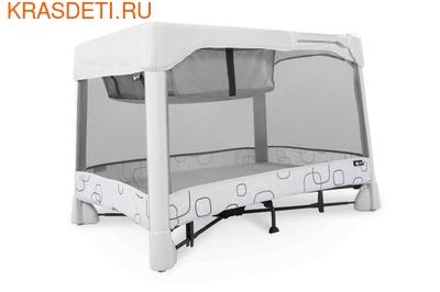Манеж-кровать 4 moms Breeze Classic серый (фото)