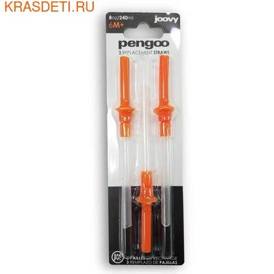 Запасные соломинки для непроливайки Pengoo Joovy (фото)