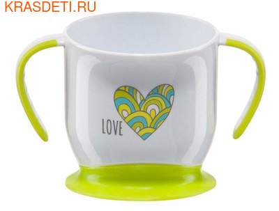 Happy Baby BABY CUP WITH SUCTION BASE (фото)
