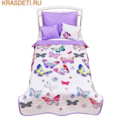 Giovanni Покрывало с подушками в кровать для дошкольников (3 предмета) Butterfly (Shapito by Giovanni ®) (фото)