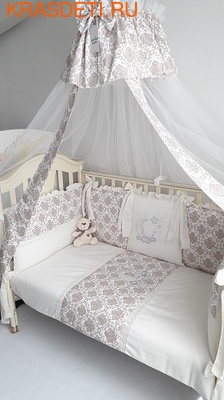Eco-Line Набор в кроватку для новорожденных ПАЛЛЕТО (6 подушек) (фото)