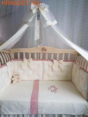 Eco-Line Набор в кроватку Cherry Flower (фото)