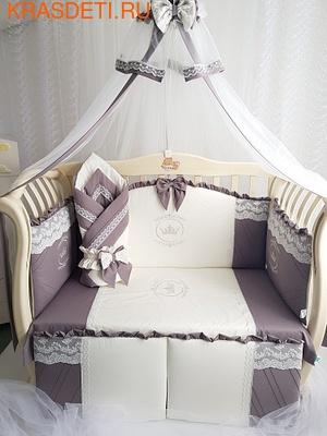 Eco-Line Набор для стандартной кроватки для новорожденных Solar (фото)