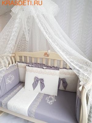 """Eco-Line Набор в кроватку для новорожденного """"Madrid"""" 11предметов (фото)"""