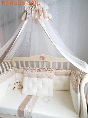 Eco-Line Набор в кроватку для новорожденных MARGARET 11пр (фото)