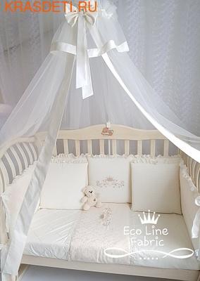 Eco-Line Набор в кроватку Сочная Пудра 13 пр (фото)