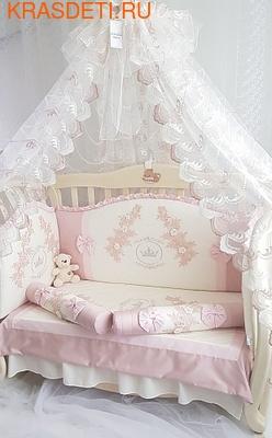 Eco-Line Набор в кроватку для новорожденных Angelica. 10 пр. (фото)