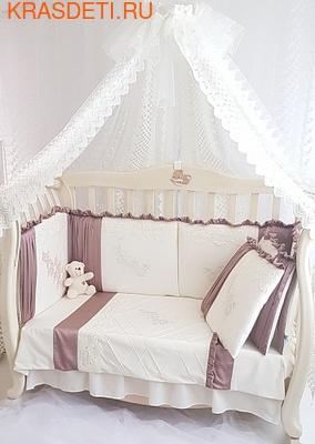 Eco-Line Набор в кроватку для новорожденных, Gracia. 11пр (фото)