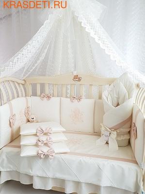 Eco-Line Набор в кроватку для новорожденных Mary, 13 пр. (фото)