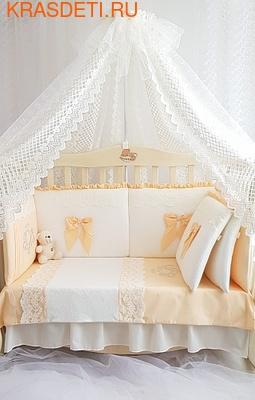 Eco-Line Набор в кроватку для новорожденных Madrid light (фото)