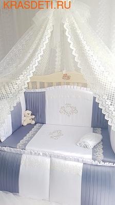 Eco-Line Набор в кроватку для новорожденных VALENSIA (фото)