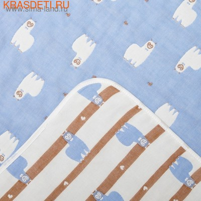 Одеяло лёгкое Крошка Я Лама 105*105 см (фото)