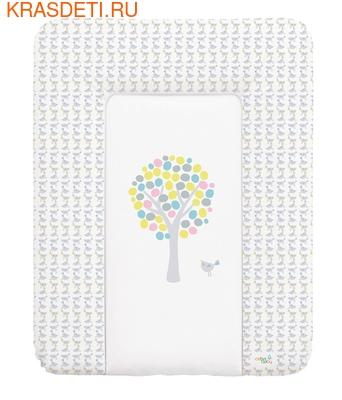 Пеленальный матрац 70x50 см Ceba Baby мягкий на комод (фото)