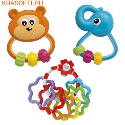 Chicco Набор игрушек-погремушек Baby Senses 3+ (фото)