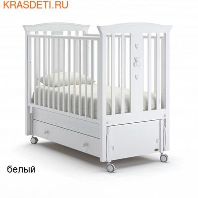 Nuovita Детская кровать Fasto swing продольный (фото)