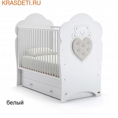 Nuovita Детская кровать Fortuna swing поперечный (фото)