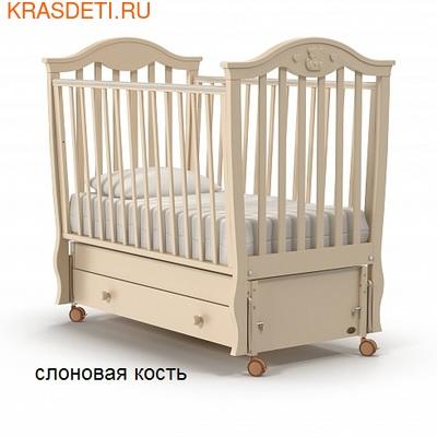 Nuovita Детская кровать Sorriso swing продольный (фото)