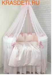 """Комплект MARELE """"Фламинго"""" на овальную кровать"""