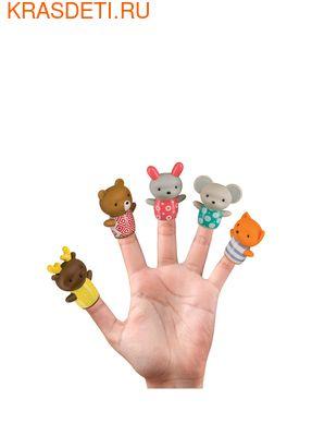 Happy Baby LITTLE FRIENDS набор пвх–игрушек на пальцы для ванной от 6 мес. (фото)