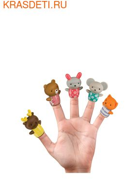Happy Baby Набор игрушек на пальцы LITTLE FRIENDS (фото)