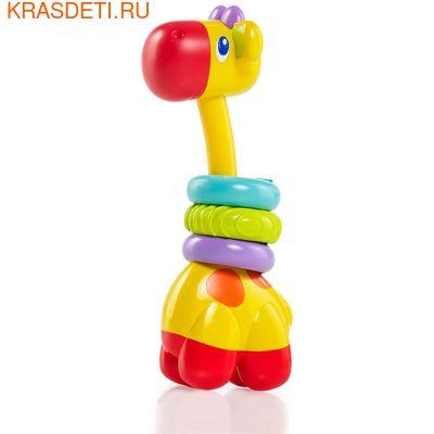 """Развивающая игрушка-прорезыватель Bright Starts """"Веселый жираф"""""""