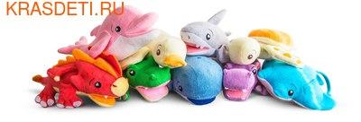 SoapSox Игрушки-мочалки для купания малышей (фото)